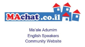 MAchat - Ma'ale Adumim English Speakers Community Website