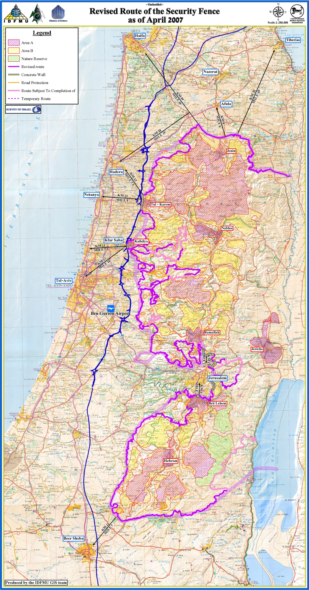 Jr pictures israel maps fence map english 52007 gumiabroncs Images