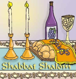 The Shabbat Page